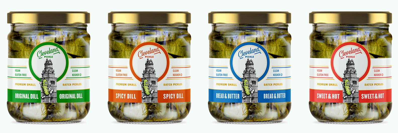 Cleveland Pickle Bottles