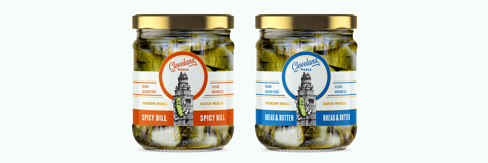 Cleveland Pickle Mix and Match 2 PACK