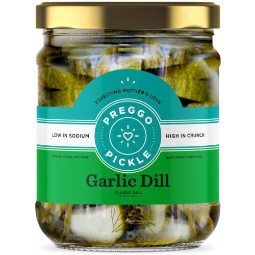 Preggo Pickle Garlic Dill