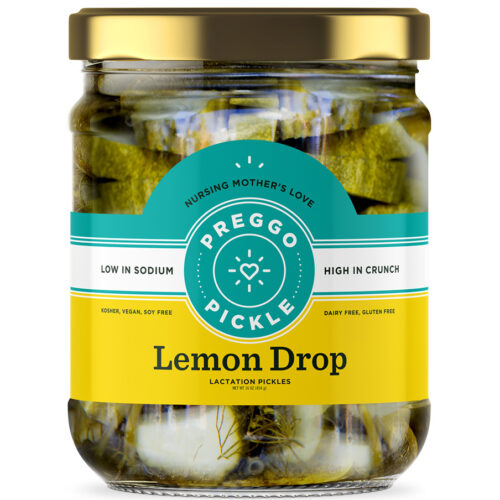 Preggo Pickle Lemon Drop